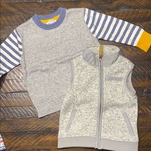 Sweater and Vest 18 Month Bundle
